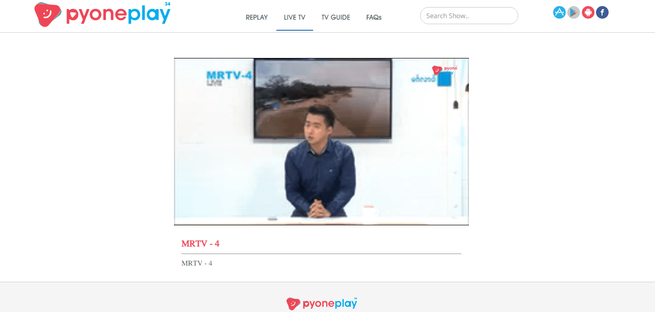 Pyone Play, watch your favorite Myanmar shows on your mobile
