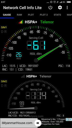 Telenor 3G Signal