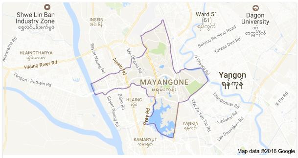 Mayangone Myanmar GT WeLink Yangon FTTH FTTB