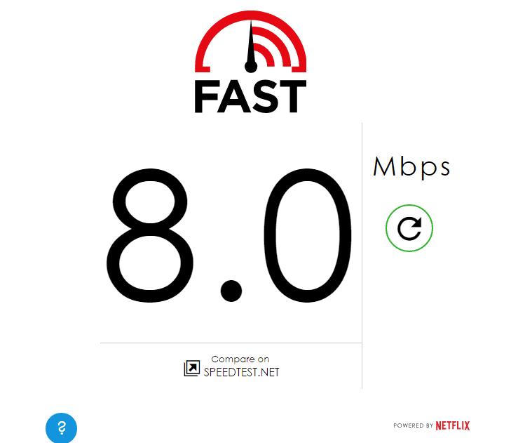 MPT Fast.com Yangon Airport Myanmar 3G 4G Speedtest