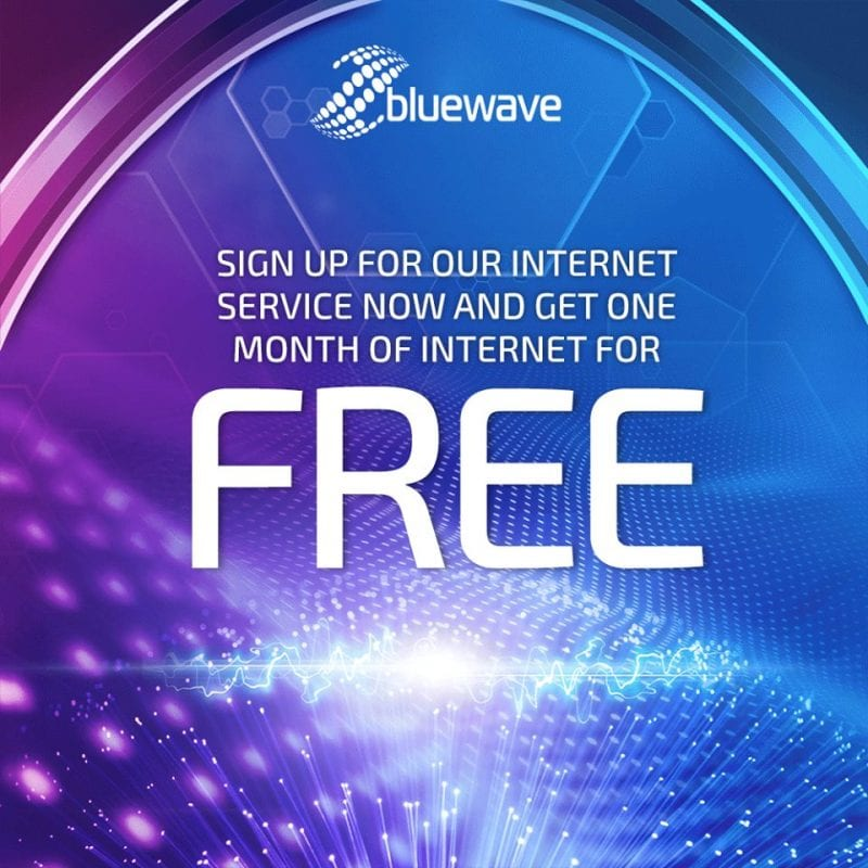 Bluewave Networks Promotion October 16