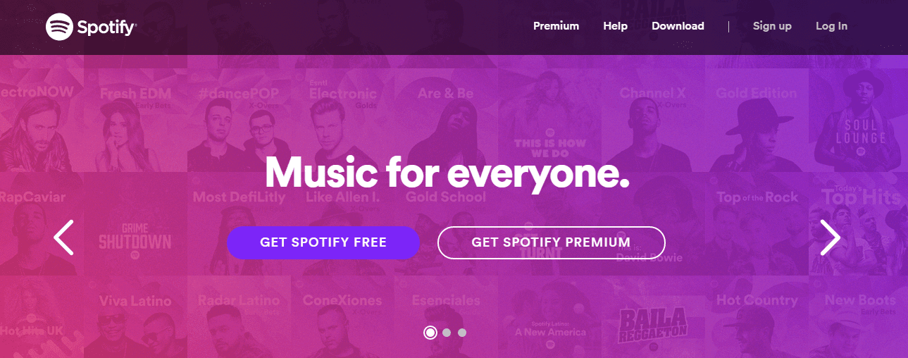 spotify available country myanmar
