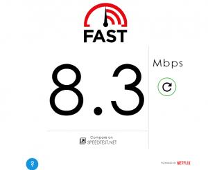 Telenor Fast.com Yangon Airport Myanmar 3G 4G Speedtest