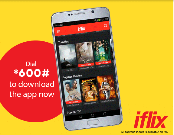 Ooredoo launches exclusive iflix bundles