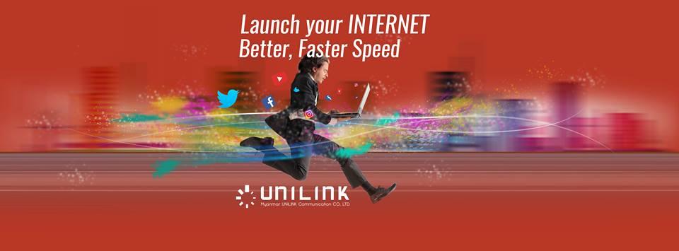 Unilink ISP Myanmar FTTH Internet in Myanmar Broadband in Myanmar