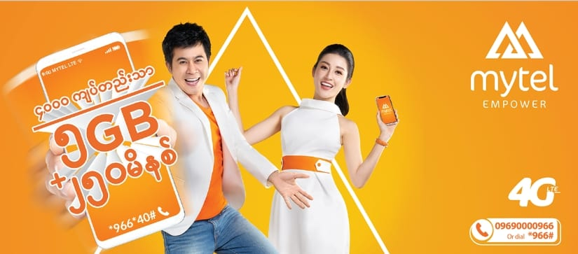 Mytel hits one million subs in Myanmar