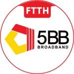 5BB Broadband Redlink Globalnet internet in myanmar broadband in myanmar ftth wireless fttb yangon 4G fiber internet bandwidth speed