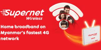 Ooredoo Supernet Wireless Myanmar 4G LTE