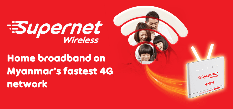 Ooredoo Supernet Wireless Myanmar 4G LTE