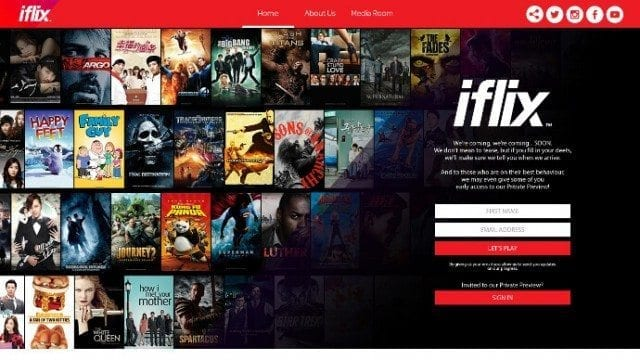 iflix streaming Internet in Myanmar digital services