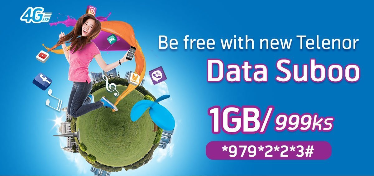 Telenor revamps Data Suboo
