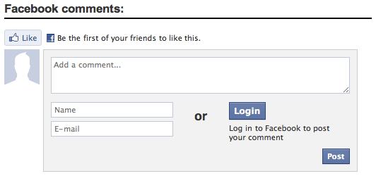 Facebook Comment SOcial Login Online Privacy Internet Myanmar