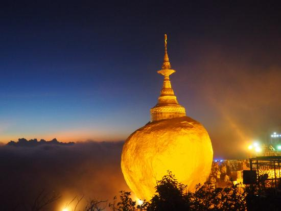 Golden Rock Tour Tourism Myanmar Yangon Day Trip travel